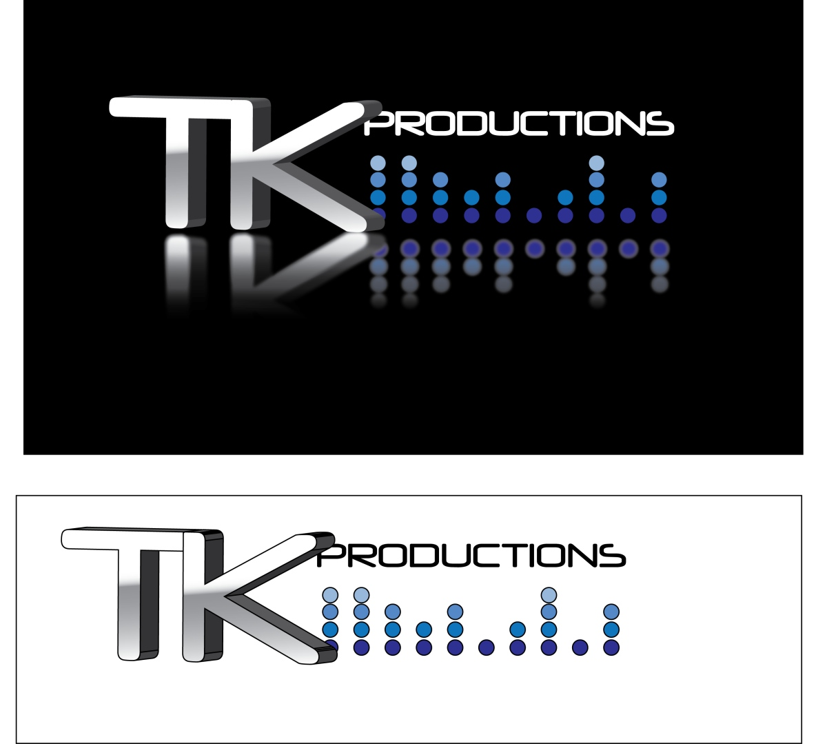 Logo Design by LLP7 - Entry No. 105 in the Logo Design Contest TKProductions Logo Re-Vamp.