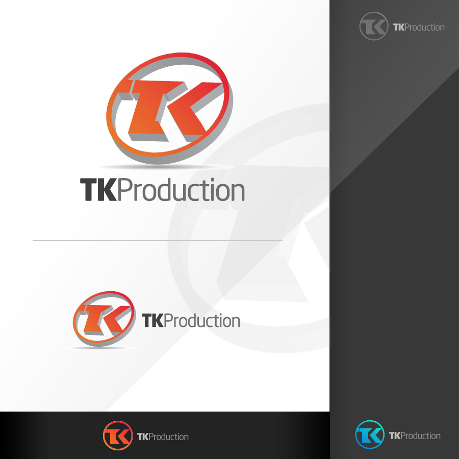 Logo Design by rockpinoy - Entry No. 129 in the Logo Design Contest TKProductions Logo Re-Vamp.