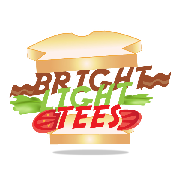 Logo Design by storm - Entry No. 35 in the Logo Design Contest BLT Sandwich Logo - Bread, with stacked words as filling.