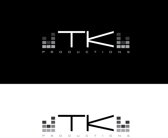 Logo Design by IconicDesign - Entry No. 132 in the Logo Design Contest TKProductions Logo Re-Vamp.