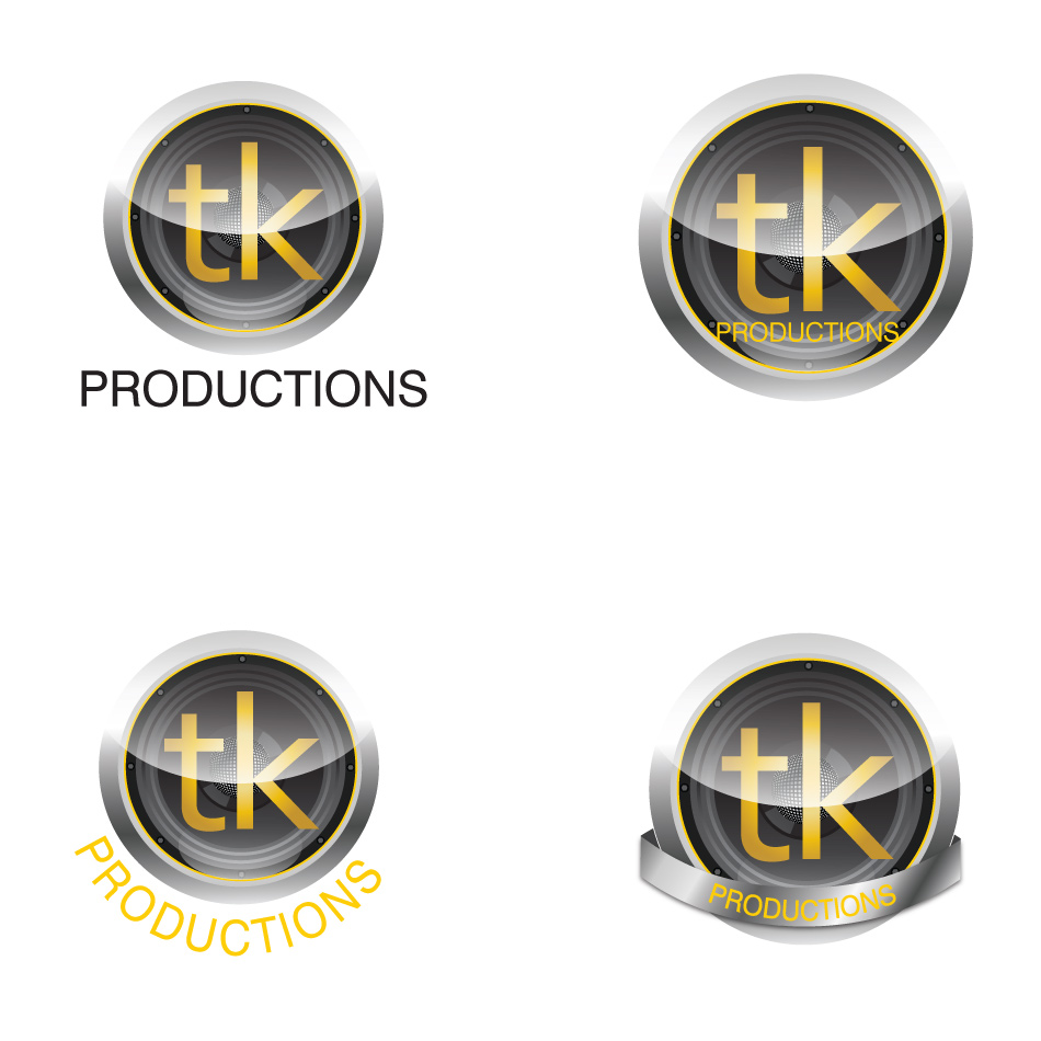 Logo Design by keekee360 - Entry No. 136 in the Logo Design Contest TKProductions Logo Re-Vamp.