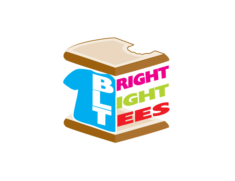 Logo Design by IconicDesign - Entry No. 50 in the Logo Design Contest BLT Sandwich Logo - Bread, with stacked words as filling.
