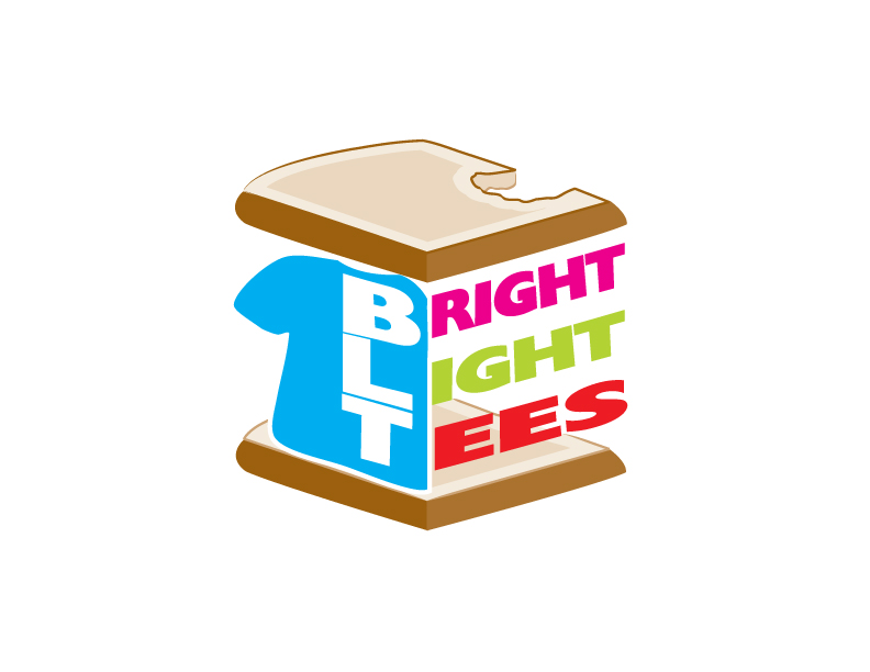 Logo Design by IconicDesign - Entry No. 57 in the Logo Design Contest BLT Sandwich Logo - Bread, with stacked words as filling.