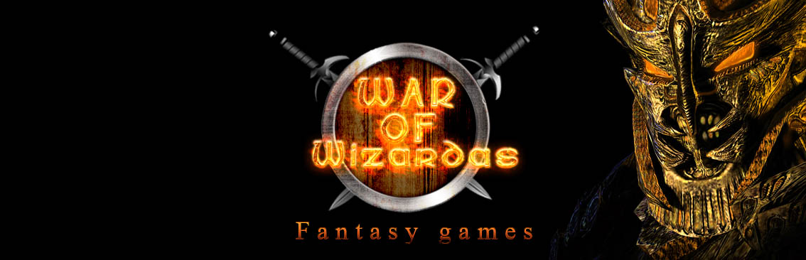 Banner Ad Design by Private User - Entry No. 6 in the Banner Ad Design Contest Banner Ad Design - War of Wizards (fantasy game).