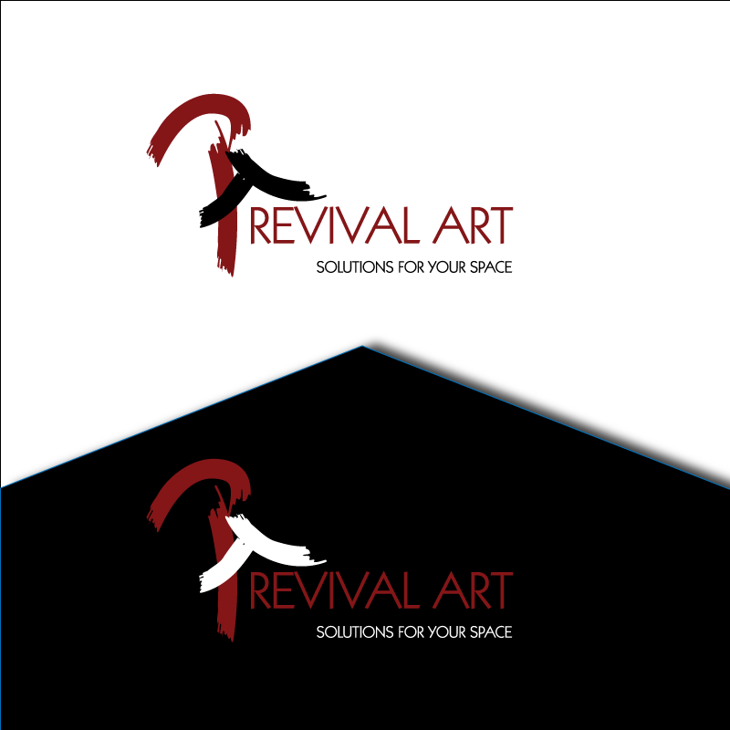 Logo Design by retrobou - Entry No. 162 in the Logo Design Contest Revival Art.