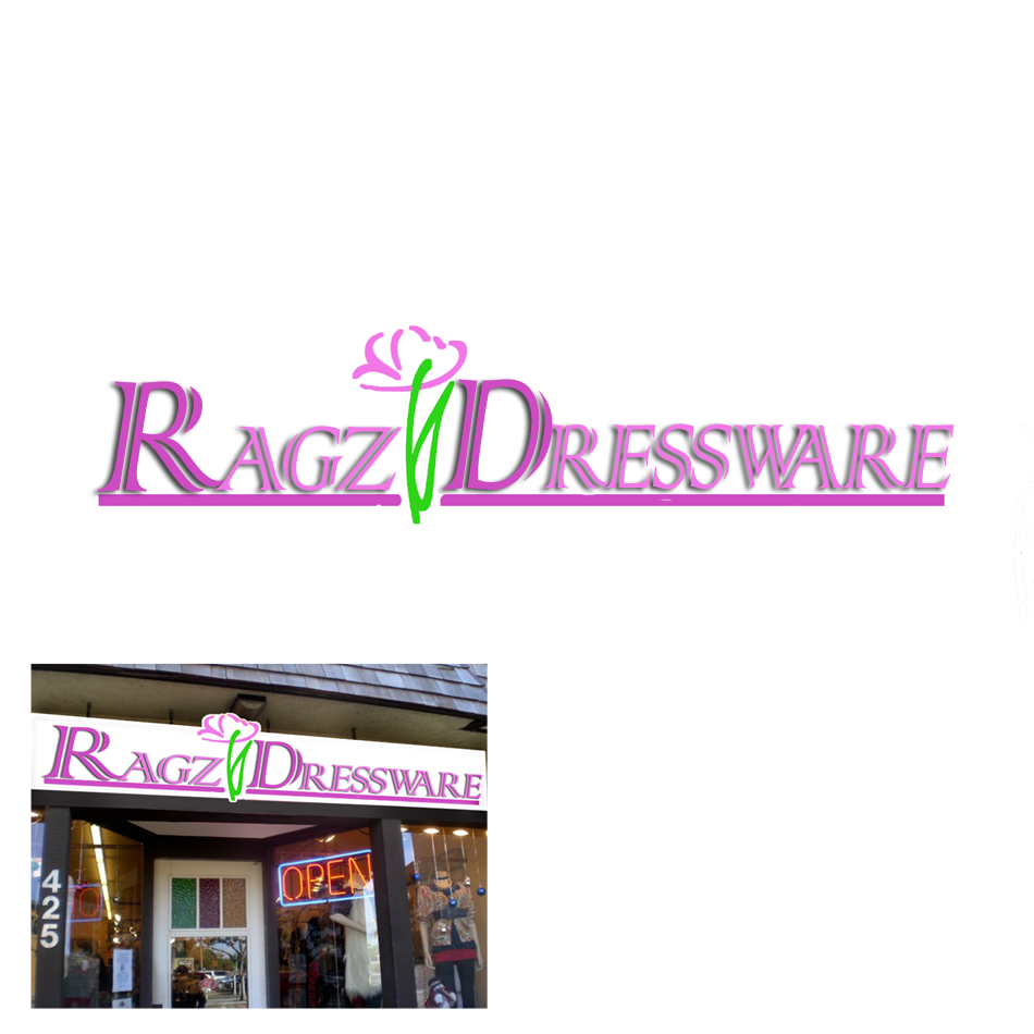 Logo Design by lapakera - Entry No. 128 in the Logo Design Contest Ragz Dressware.