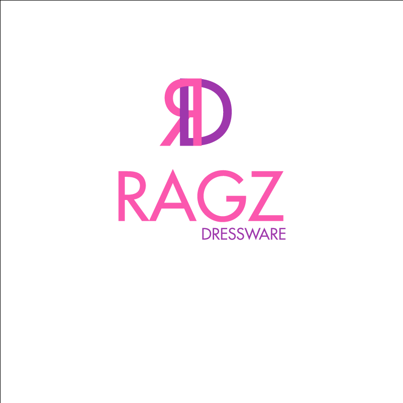 Logo Design by retrobou - Entry No. 132 in the Logo Design Contest Ragz Dressware.
