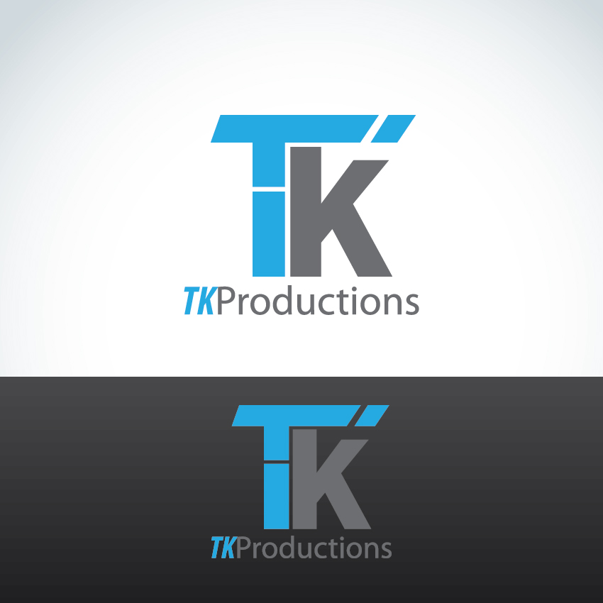Logo Design by aesthetic-art - Entry No. 160 in the Logo Design Contest TKProductions Logo Re-Vamp.