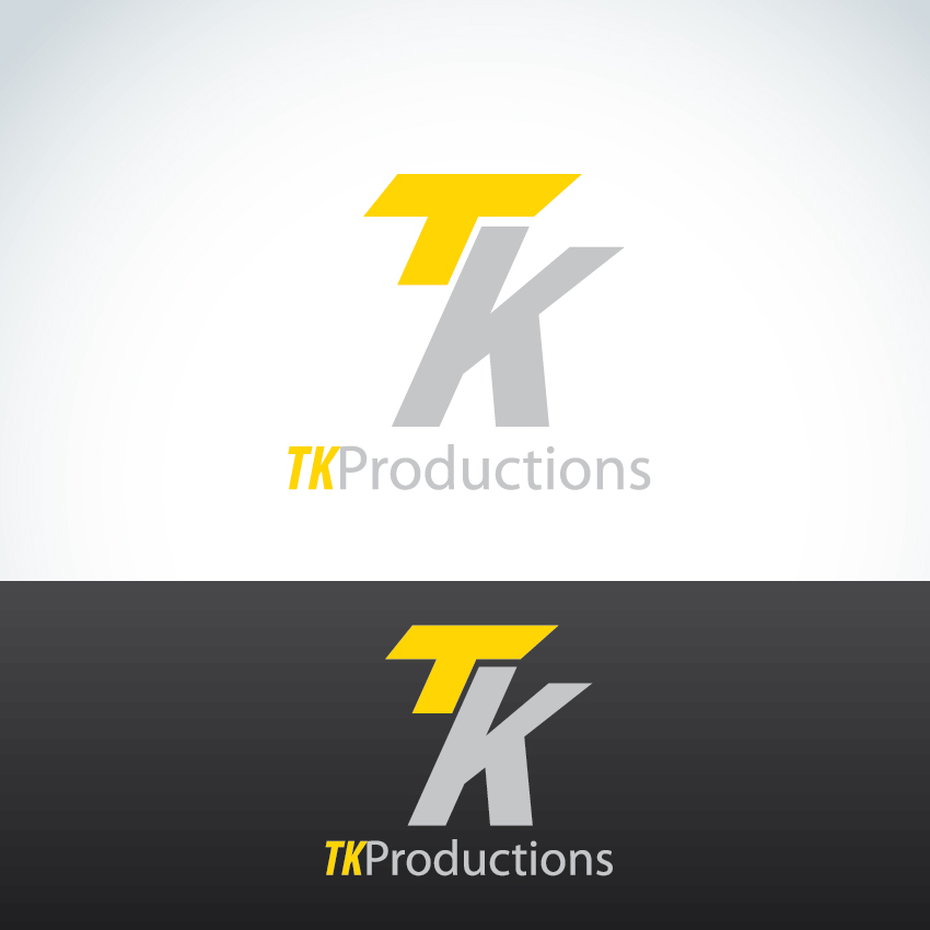 Logo Design by aesthetic-art - Entry No. 161 in the Logo Design Contest TKProductions Logo Re-Vamp.
