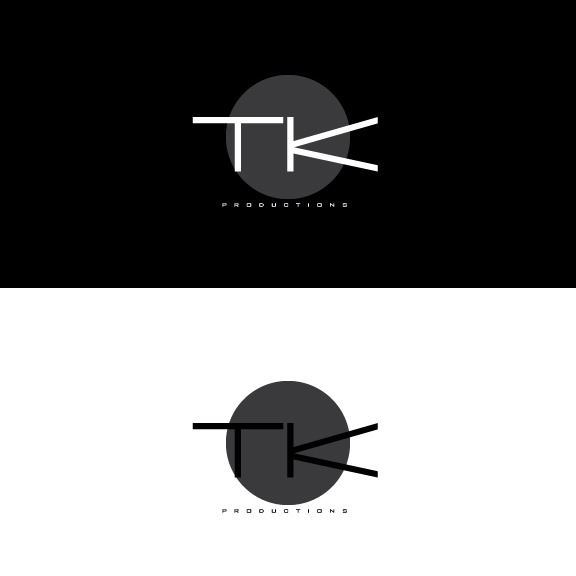 Logo Design by IconicDesign - Entry No. 164 in the Logo Design Contest TKProductions Logo Re-Vamp.