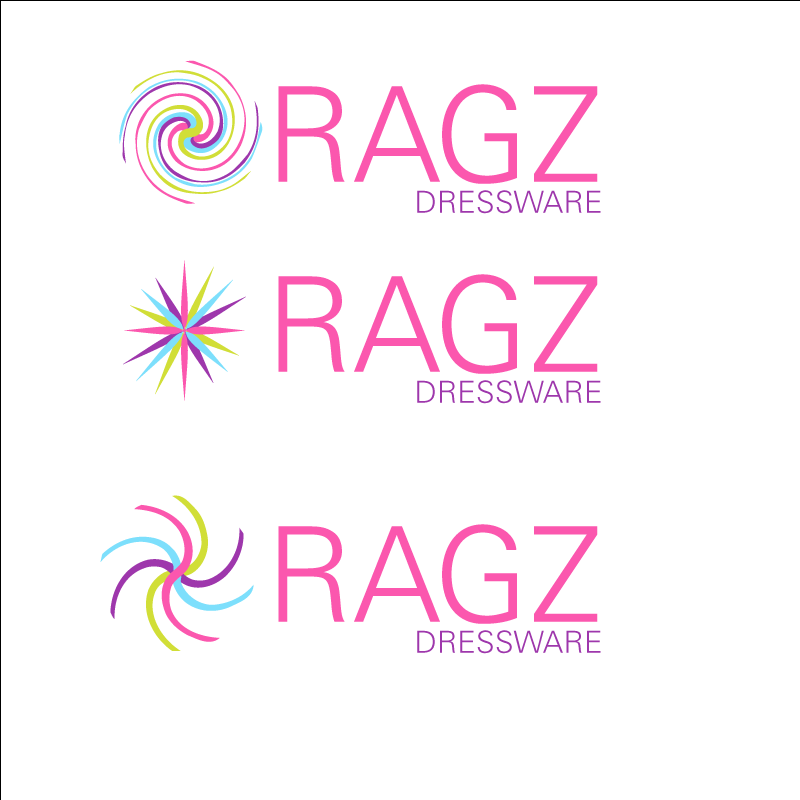 Logo Design by retrobou - Entry No. 151 in the Logo Design Contest Ragz Dressware.