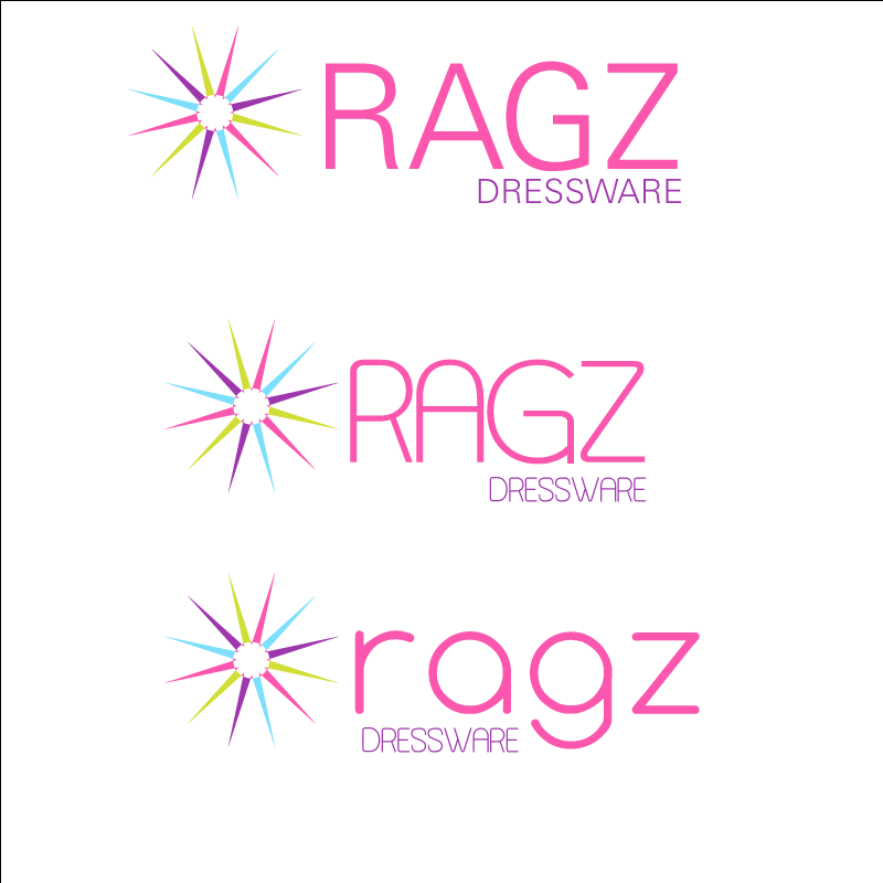 Logo Design by retrobou - Entry No. 152 in the Logo Design Contest Ragz Dressware.
