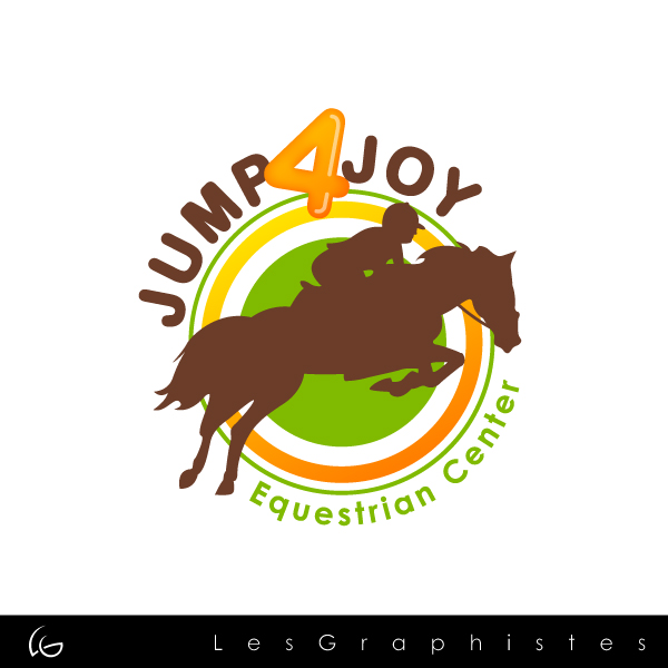 Logo Design by Les-Graphistes - Entry No. 3 in the Logo Design Contest Jump 4 Joy.