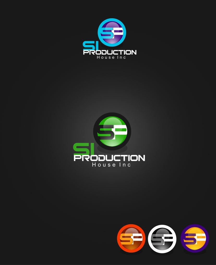Logo Design by Private User - Entry No. 58 in the Logo Design Contest Si Production House Inc Logo Design.