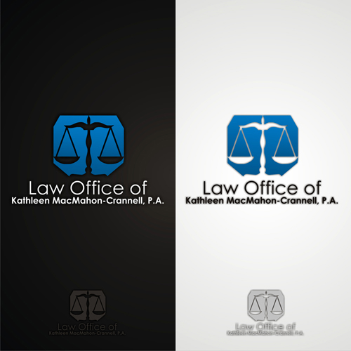 Logo Design by lestari17 - Entry No. 107 in the Logo Design Contest I need a brand new law office logo.