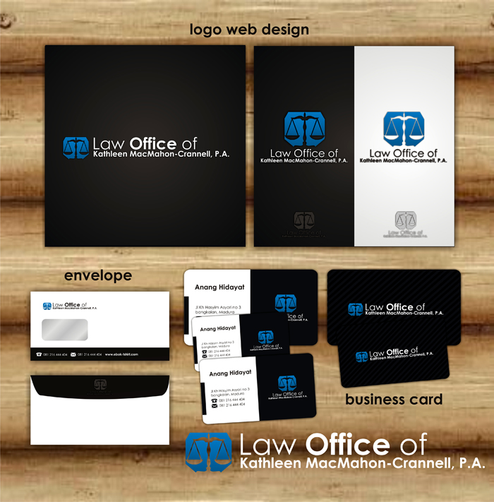 Logo Design by lestari17 - Entry No. 110 in the Logo Design Contest I need a brand new law office logo.