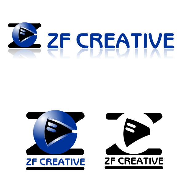 Logo Design by monza - Entry No. 10 in the Logo Design Contest ZF Creative Logo Contest.
