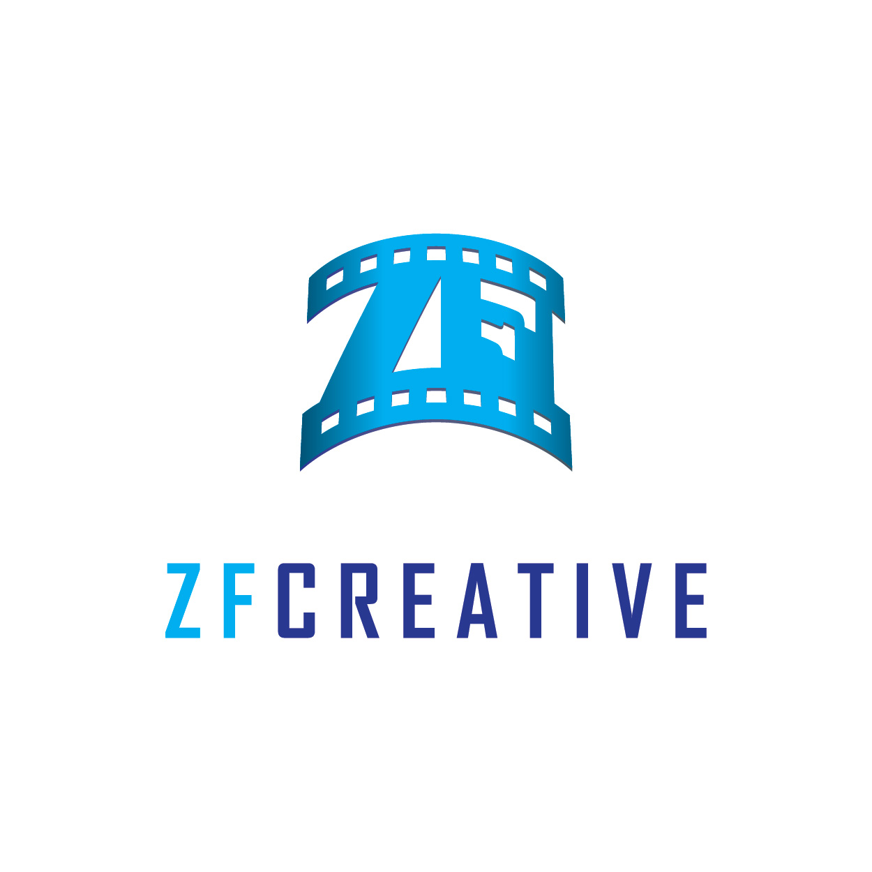 Logo Design by josephope - Entry No. 14 in the Logo Design Contest ZF Creative Logo Contest.