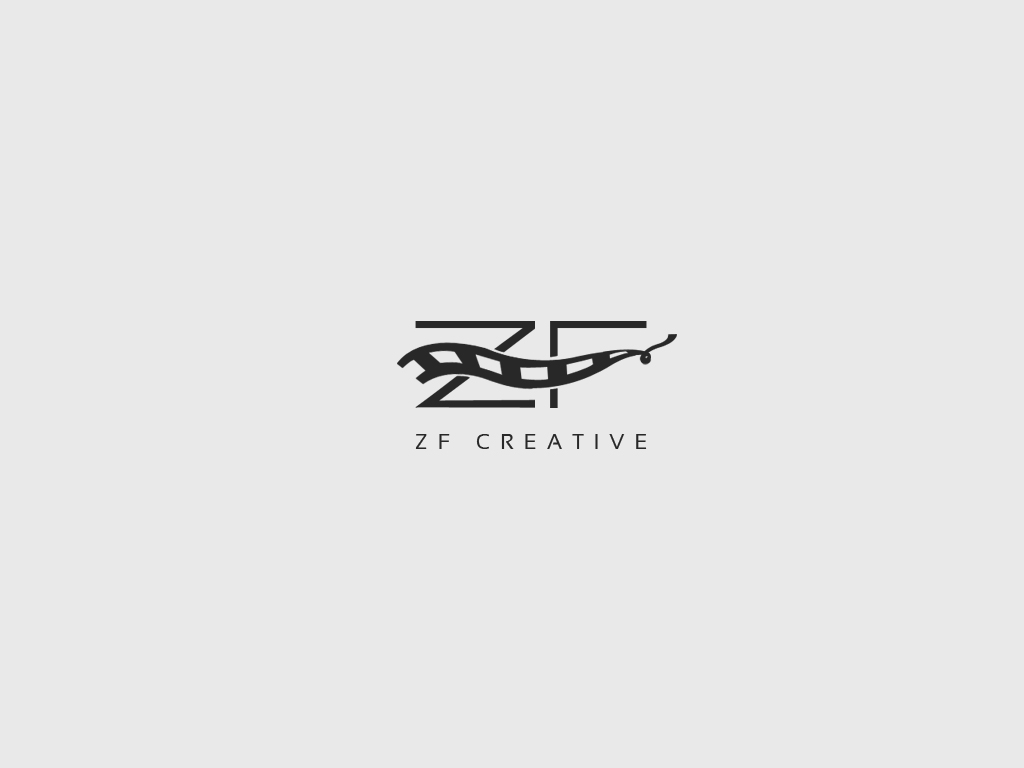 Logo Design by Private User - Entry No. 20 in the Logo Design Contest ZF Creative Logo Contest.