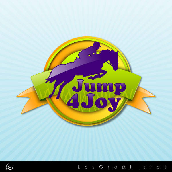 Logo Design by Les-Graphistes - Entry No. 32 in the Logo Design Contest Jump 4 Joy.