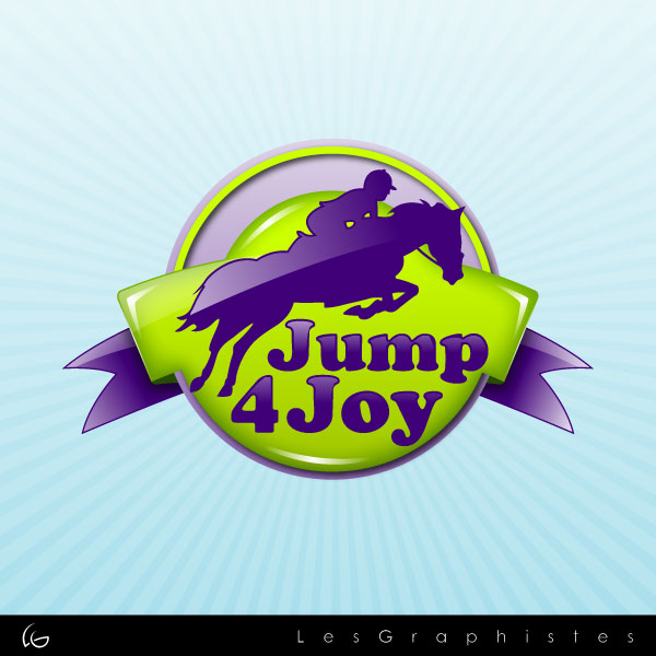 Logo Design by Les-Graphistes - Entry No. 33 in the Logo Design Contest Jump 4 Joy.