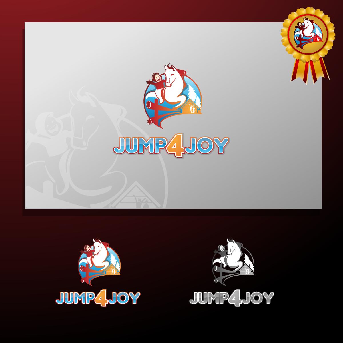 Logo Design by zesthar - Entry No. 34 in the Logo Design Contest Jump 4 Joy.