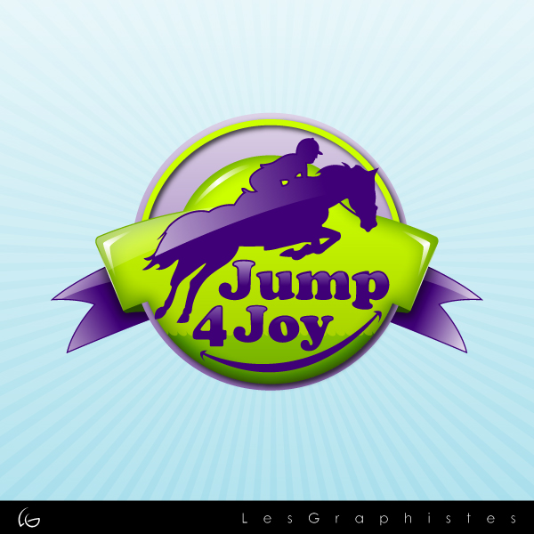 Logo Design by Les-Graphistes - Entry No. 35 in the Logo Design Contest Jump 4 Joy.
