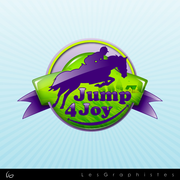 Logo Design by Les-Graphistes - Entry No. 36 in the Logo Design Contest Jump 4 Joy.