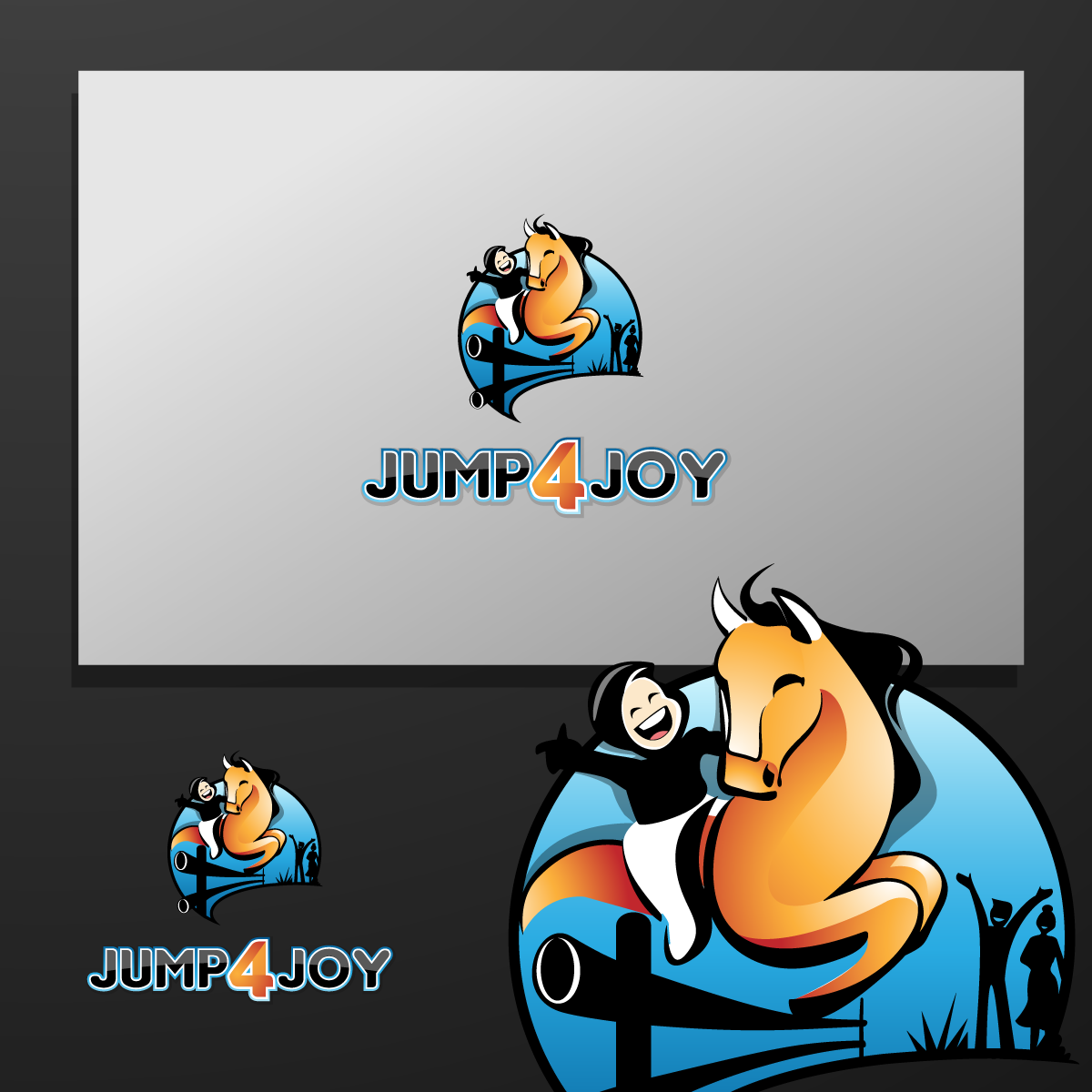 Logo Design by zesthar - Entry No. 37 in the Logo Design Contest Jump 4 Joy.