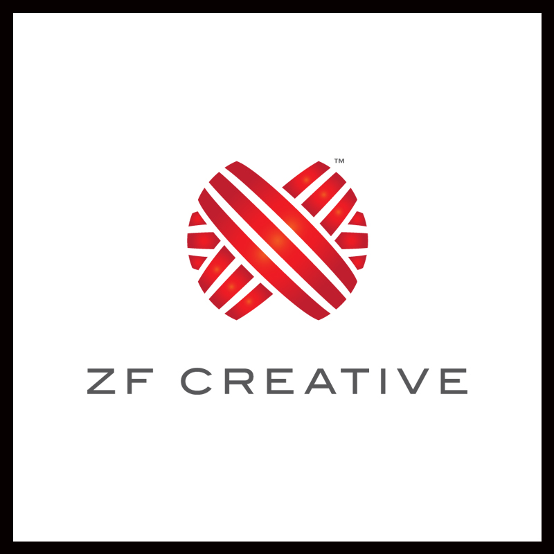 Logo Design by Number-Eight-Design - Entry No. 34 in the Logo Design Contest ZF Creative Logo Contest.