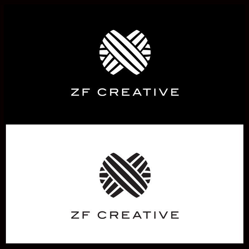 Logo Design by Number-Eight-Design - Entry No. 35 in the Logo Design Contest ZF Creative Logo Contest.