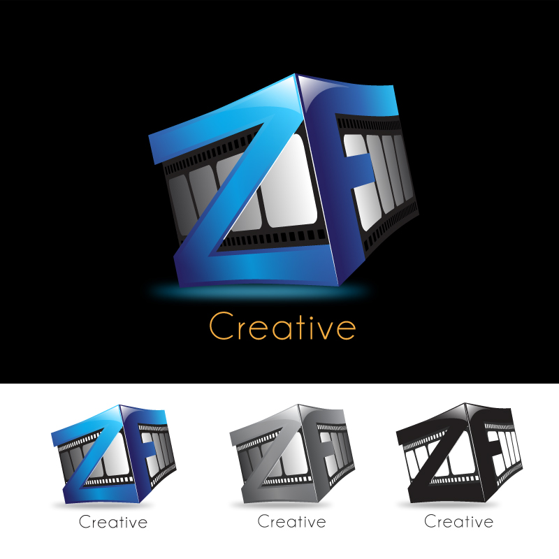 Logo Design by storm - Entry No. 41 in the Logo Design Contest ZF Creative Logo Contest.