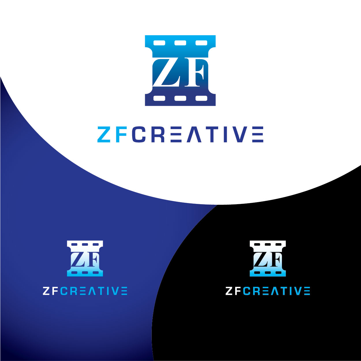 Logo Design by josephope - Entry No. 43 in the Logo Design Contest ZF Creative Logo Contest.