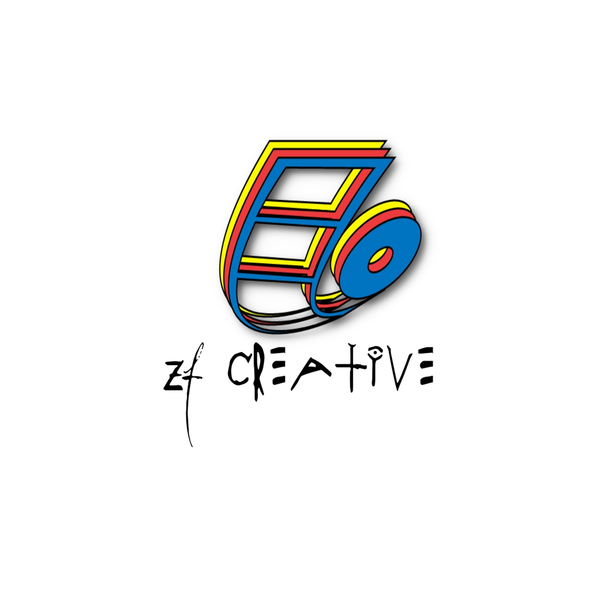 Logo Design by Joseph calunsag Cagaanan - Entry No. 52 in the Logo Design Contest ZF Creative Logo Contest.