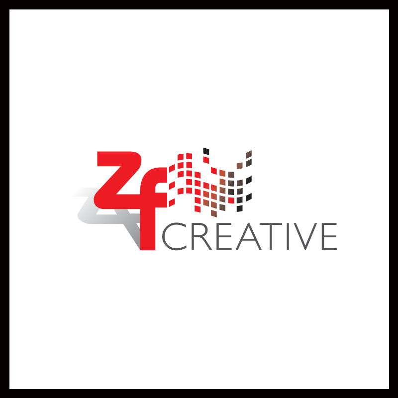 Logo Design by Number-Eight-Design - Entry No. 55 in the Logo Design Contest ZF Creative Logo Contest.