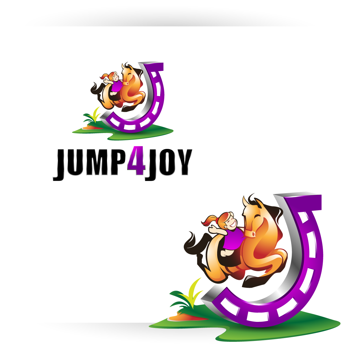 Logo Design by zesthar - Entry No. 46 in the Logo Design Contest Jump 4 Joy.