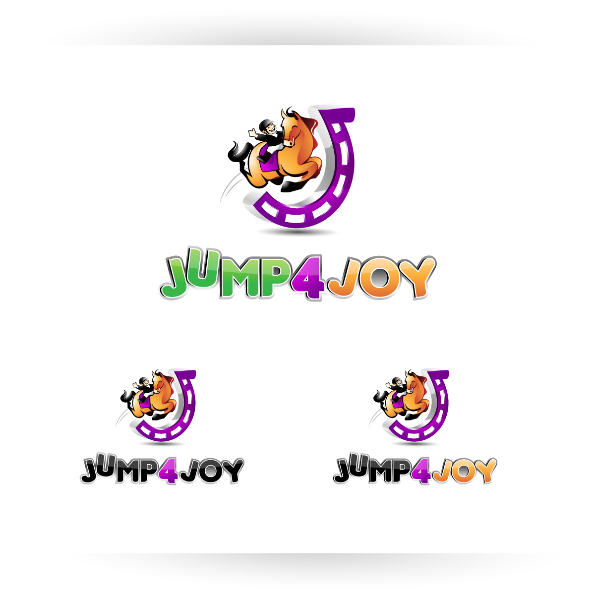 Logo Design by zesthar - Entry No. 47 in the Logo Design Contest Jump 4 Joy.