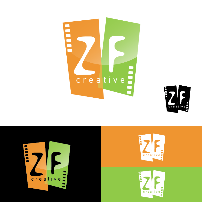 Logo Design by limix - Entry No. 65 in the Logo Design Contest ZF Creative Logo Contest.