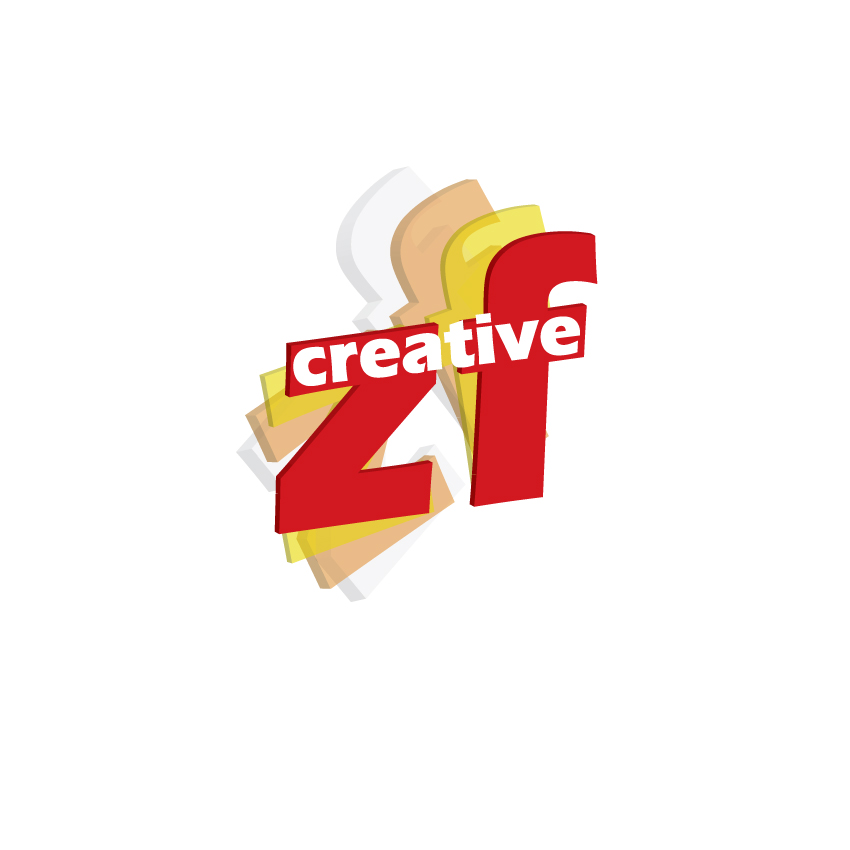 Logo Design by Private User - Entry No. 71 in the Logo Design Contest ZF Creative Logo Contest.