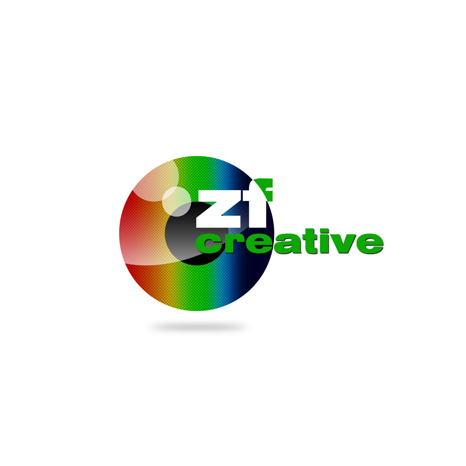 Logo Design by keekee360 - Entry No. 79 in the Logo Design Contest ZF Creative Logo Contest.