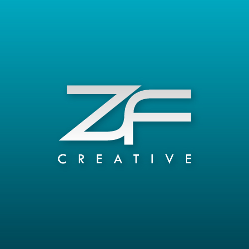 Logo Design by SilverEagle - Entry No. 82 in the Logo Design Contest ZF Creative Logo Contest.