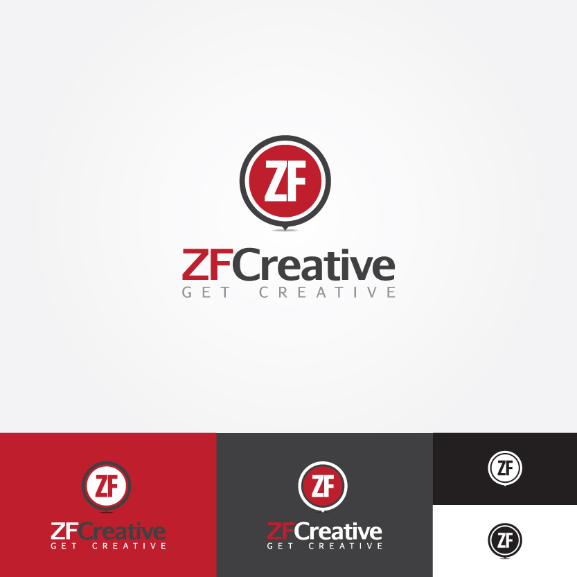 Logo Design by Alpar David - Entry No. 87 in the Logo Design Contest ZF Creative Logo Contest.