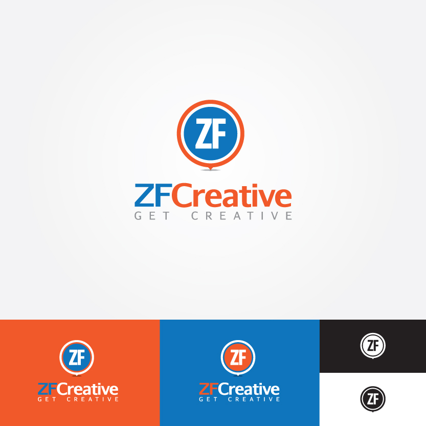 Logo Design by Alpar David - Entry No. 88 in the Logo Design Contest ZF Creative Logo Contest.