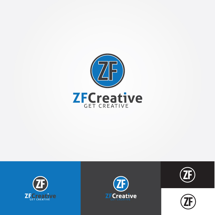 Logo Design by Alpar David - Entry No. 89 in the Logo Design Contest ZF Creative Logo Contest.