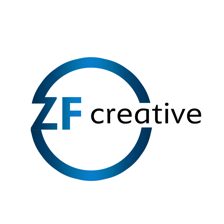 Logo Design by keekee360 - Entry No. 91 in the Logo Design Contest ZF Creative Logo Contest.