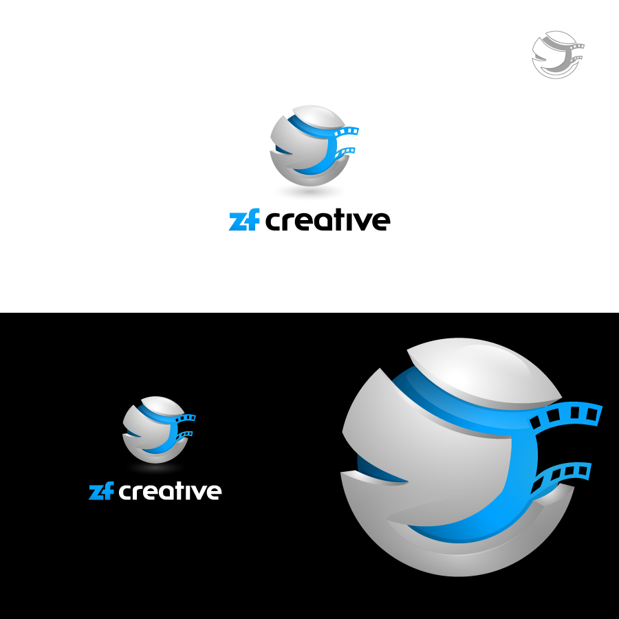 Logo Design by zesthar - Entry No. 97 in the Logo Design Contest ZF Creative Logo Contest.