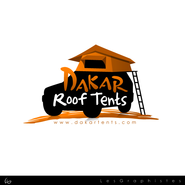 Logo Design by Les-Graphistes - Entry No. 8 in the Logo Design Contest Dakar Roof Tents.