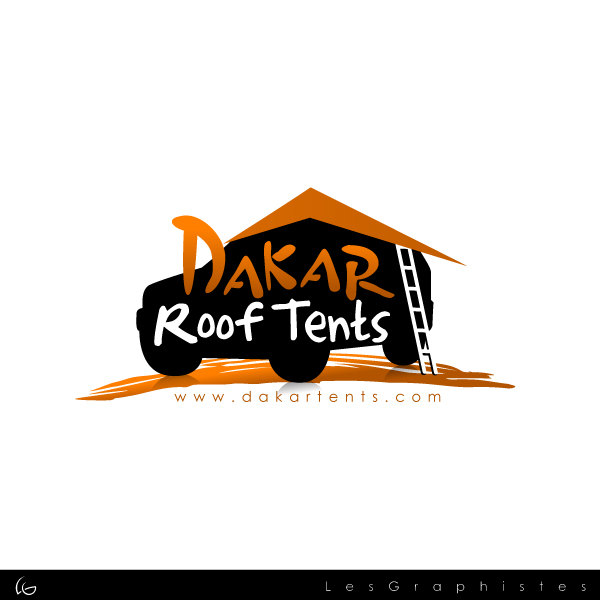Logo Design by Les-Graphistes - Entry No. 9 in the Logo Design Contest Dakar Roof Tents.