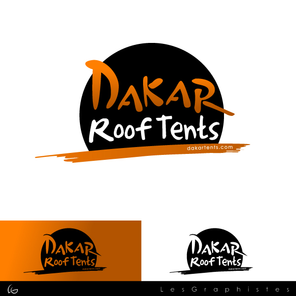 Logo Design by Les-Graphistes - Entry No. 13 in the Logo Design Contest Dakar Roof Tents.