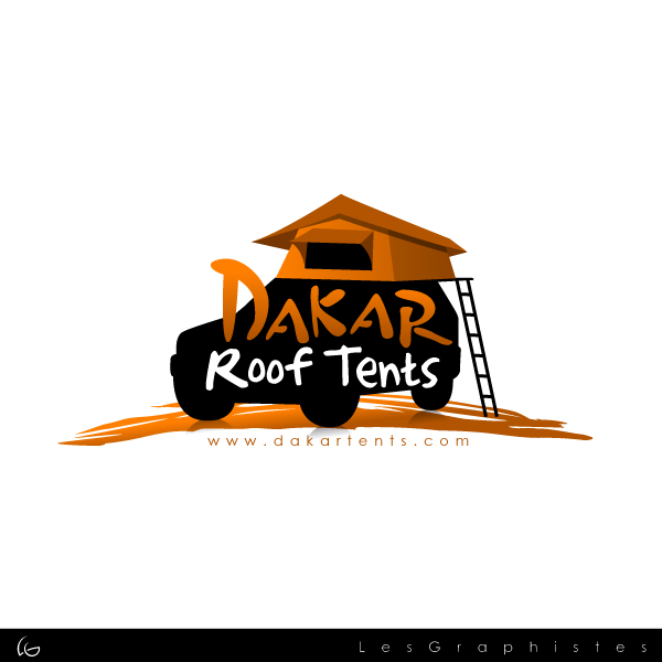 Logo Design by Les-Graphistes - Entry No. 15 in the Logo Design Contest Dakar Roof Tents.